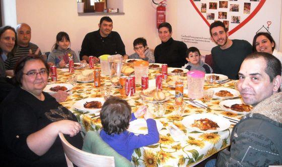 In visita ai bambini di Casa Ronald