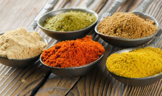 Spezie e aromi per ridurre il consumo di sale