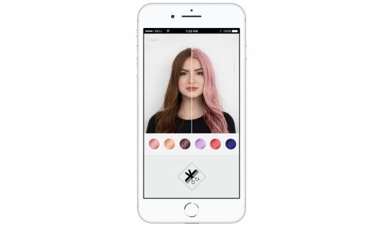 Un nuovo colore di capelli? Vedi come ti sta con l'App in 3D