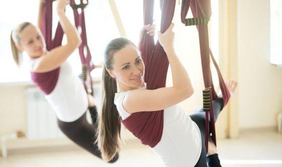 Antigravity Pilates: la nuova frontiera dell'esercizio