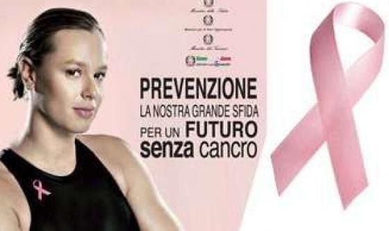 Federica Pellegrini contro i tumori in rosa