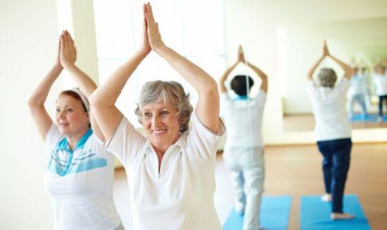 Lo yoga nella terza età