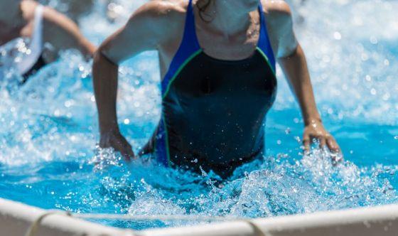 Acquastep, la ginnastica in acqua