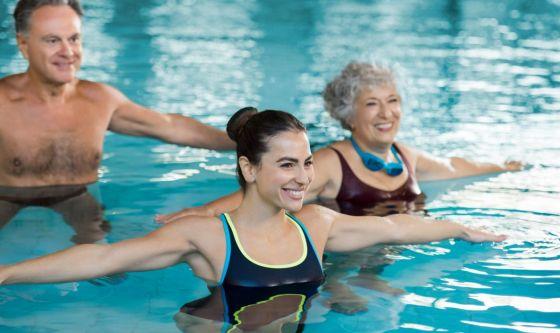 Acquagag: tutti in piscina per un fisico asciutto