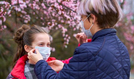 Le mascherine sono compatibili con le allergie stagionali?