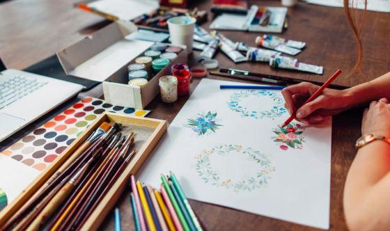 Quarantena: il potere antistress dell'arte