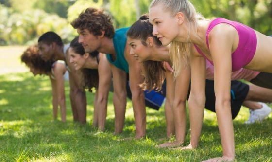 Push – up, l'esercizio per potenziare gli arti superiori