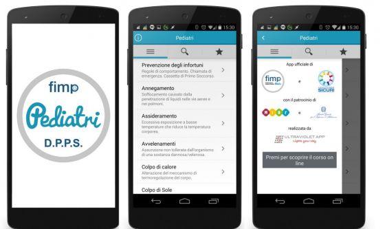 Bambini: un'App per affrontare le emergenze