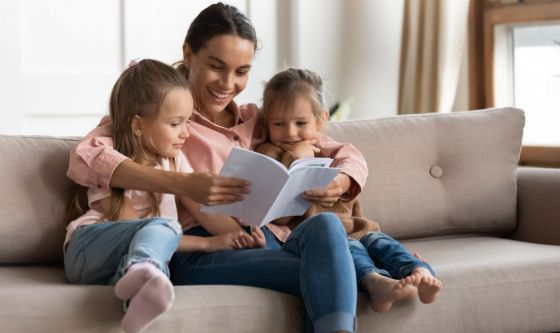 Leggere ai bambini: un vero toccasana