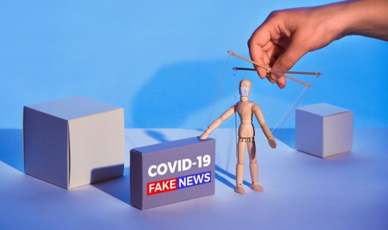 Otto italiani su 10 preoccupati dalle fake news sul Covid-19