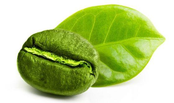 tè verde contro la pelle del caffè