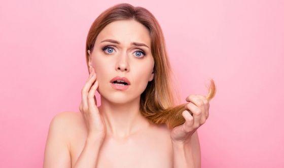 Programma riparazione per capelli danneggiati