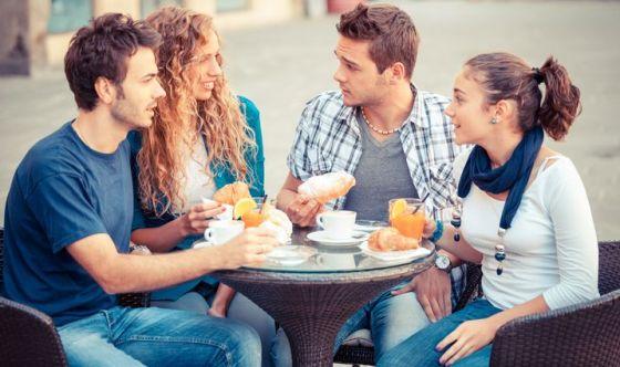 Pasti fuori casa: bar per colazione, ristorante per cena