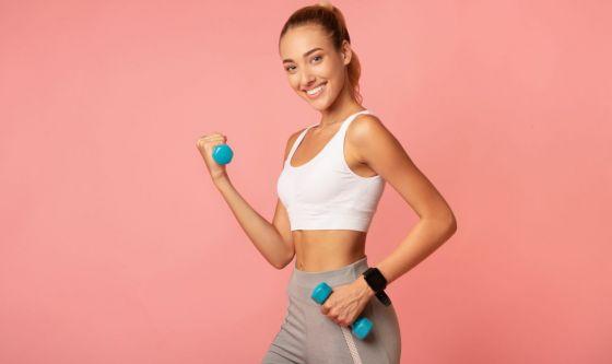Tone up: tonificare il corpo e bruciare calorie