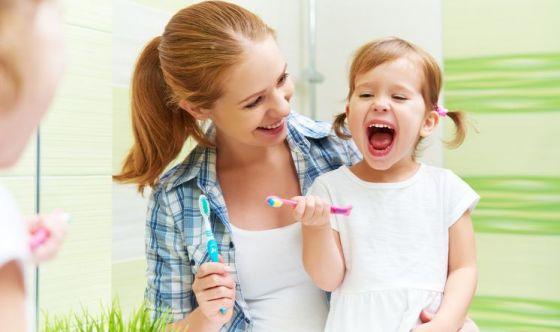 Evitare la carie nei bambini