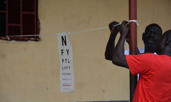 CBM: la cura delle patologie visive in Sud Sudan