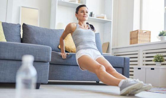 Ecco la ginnastica da divano