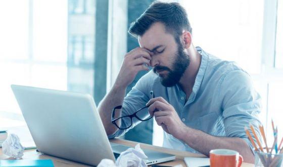 Non solo donne: stressati 9 maschi su 10