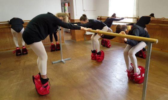 Master stretch, l'attrezzo per gambe da ballerina