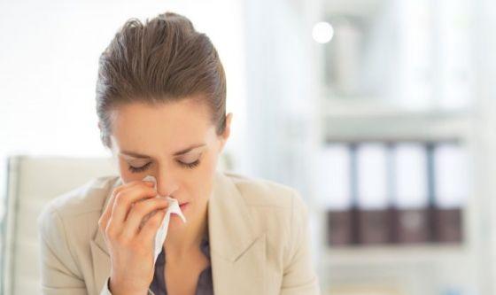 Allergia: un italiano su due non riesce a controllarla