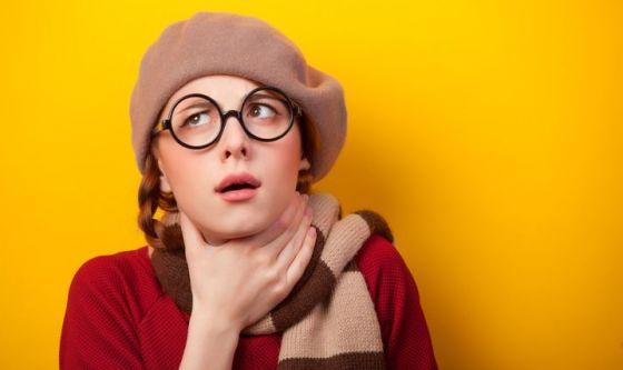 Mal di gola: può colpire anche in primavera