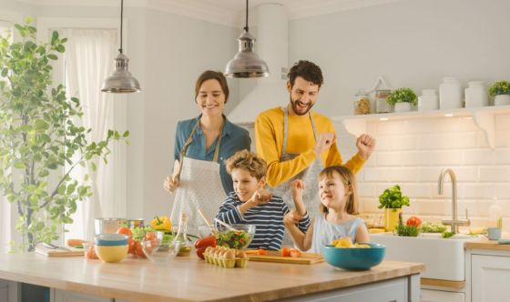 Italiani appassionati di cucina