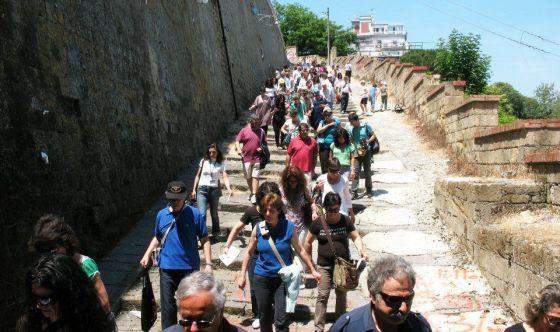 Con il trekking urbano salute in movimento