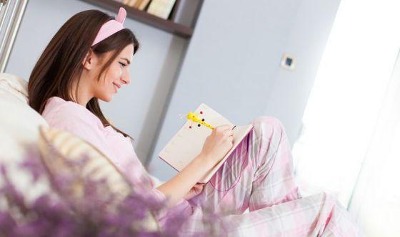 Riuscire a dormire scrivendo una lista delle cose da fare