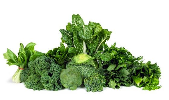 Cavoli e spinaci contro l'aterosclerosi