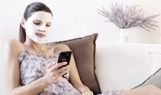 Bellezza: nasce la maschera che si collega allo smartphone
