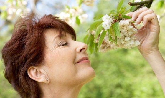 Perdita olfatto associata a deterioramento della saluta