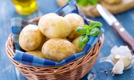 Le patate hanno meno calorie della pasta