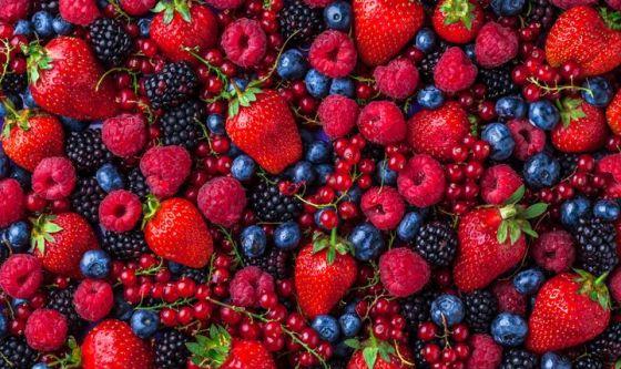 Frutti di bosco: il rosso che fa bene alla pelle
