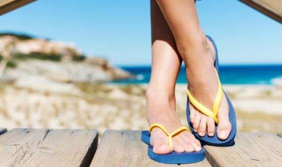 Pronte per sandali e infradito?