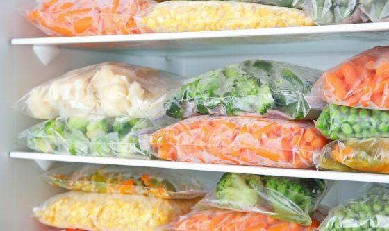 I surgelati dimezzano lo spreco alimentare