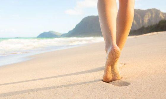 Stimolare i piedi per allenare il corpo