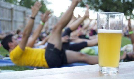 È in arrivo il Beer Pilates