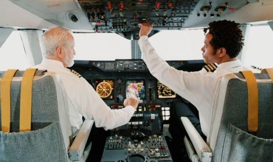Più del 12% dei piloti di linea sono depressi