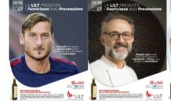 Bottura e Totti fuoriclasse della prevenzione