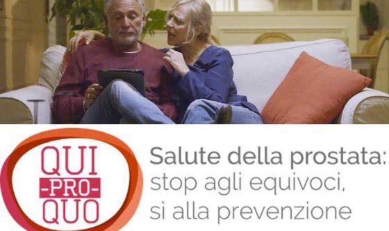 Con Paolantoni un brindisi virtuale per la prostata