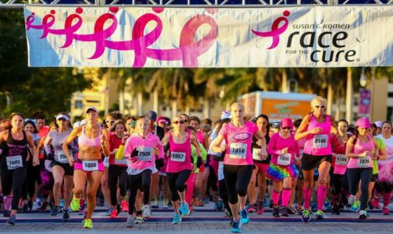 Race for the cure: i vip invitano a partecipare