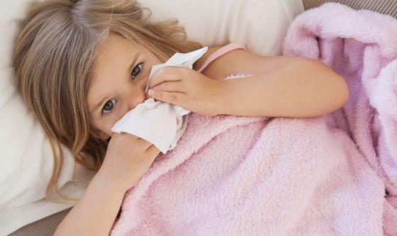 Raffreddore e allergie: arriva lo spray naturale per i bimbi