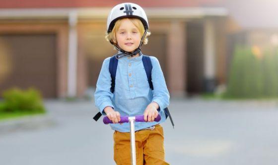 Bambini, tutti a scuola a piedi