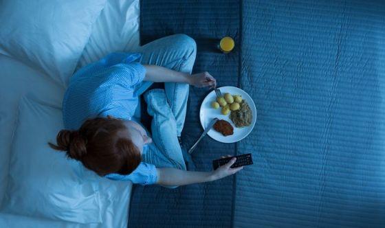 Di sera tardi non si mangia!
