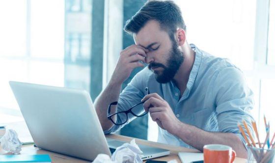Troppo stress dal mancato riconoscimento del proprio lavoro