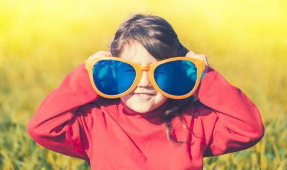 Proteggere i bambini dai raggi UV