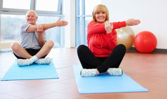 Insegnare yoga ad 80 anni!