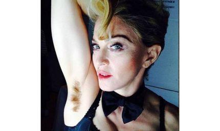 Ascelle al naturale? Madonna dice sì...