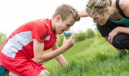 Bimbi e sport: i consigli per chi soffre di asma