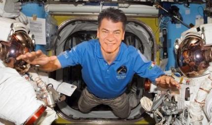 Paolo Nespoli porta la ricerca nello spazio